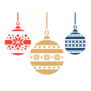christmas ornaments stencils