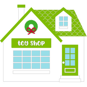 toy shop - christmas town