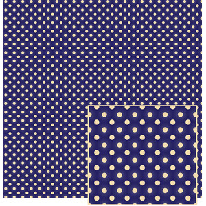 navy blue polka dot pattern