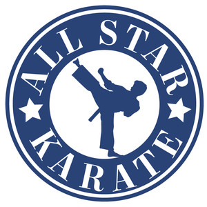 all star karate label