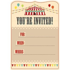big top invitation pnc
