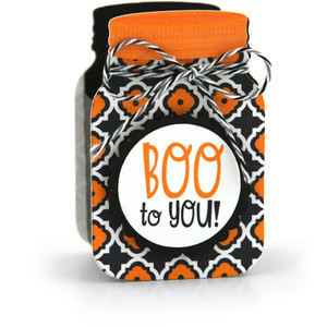 mason jar treat box boo to you