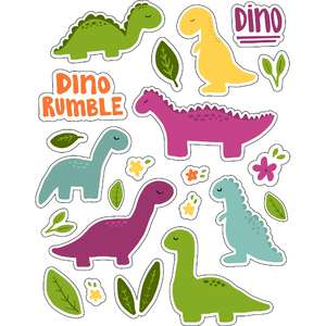 ml cute dinosaurs stickers