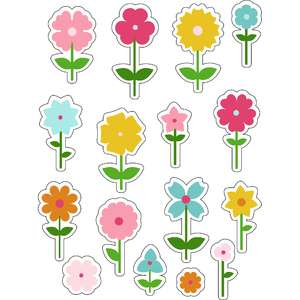 ml growing flowers stickers