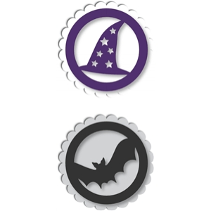 halloween tag toppers