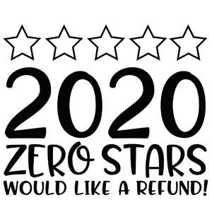 2020 - zero stars - would like a refund