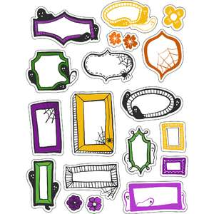 ml halloween frames stickers