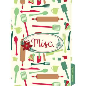 holiday cookbook misc divider
