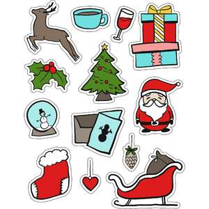 ml some christmas icons stickers