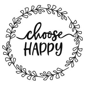 choose happy phrase