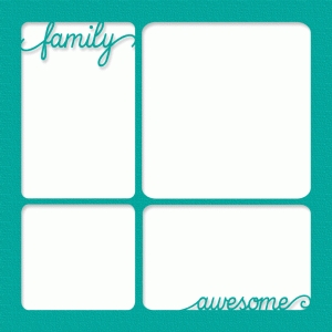 family awesome photo frame