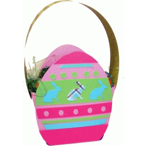 easter egg gift bag