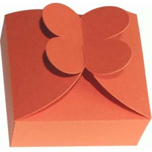 4 petals flower closure box