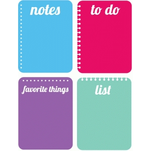 notebook journaling cards