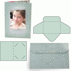 instant photo basic card and envelope