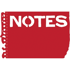 torn notebook notes