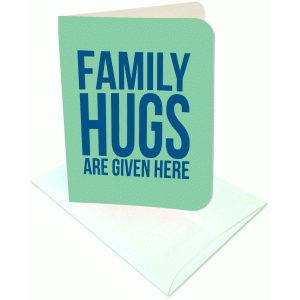 family hugs a2 card