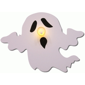 ghost tealight holder