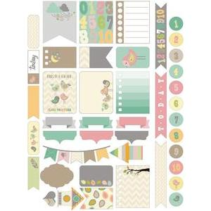 birds of a feather planner stickers