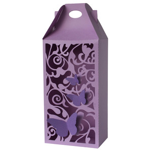butterfly flourish tall gable box