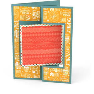 flip flap card square