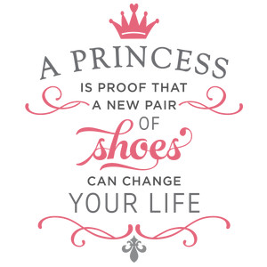 princess is proof phrase