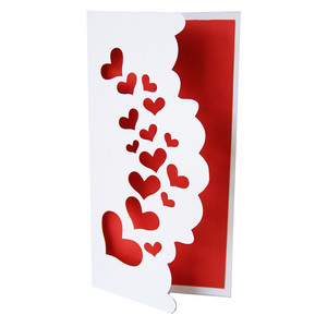 heart spray card