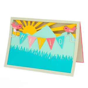 hinterland summer hello card