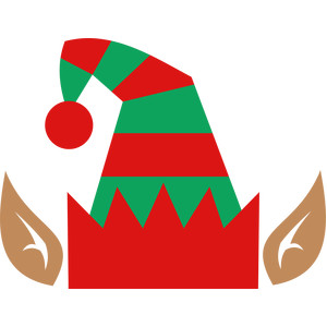 Silhouette Design Store Search Designs Elf Hat And Elf Legs Svg Designs