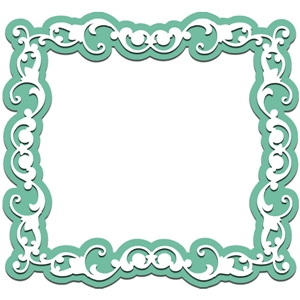 scrapbook border frame
