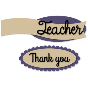 teacher thank you banner tags