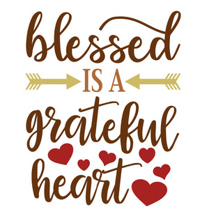 blessed is grateful heart