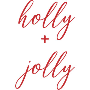 holly + jolly