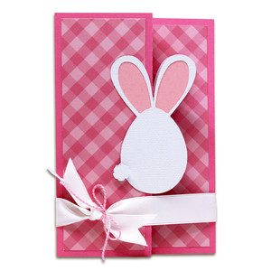 egg bunny surprise card