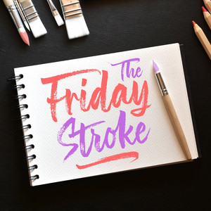 the friday stroke font
