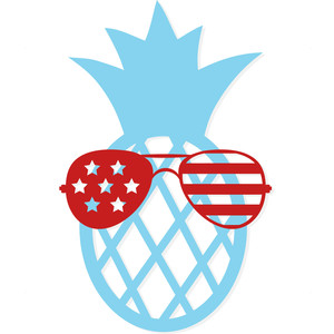 july 4th pineapple