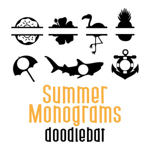 summer monograms doodlebat