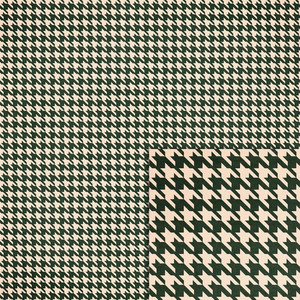 forest green houndstooth background paper