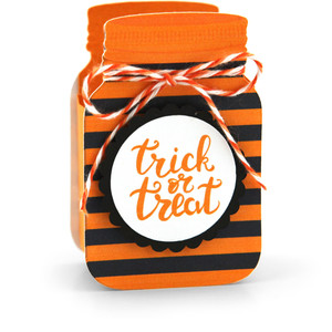 mason jar treat box trick or treat