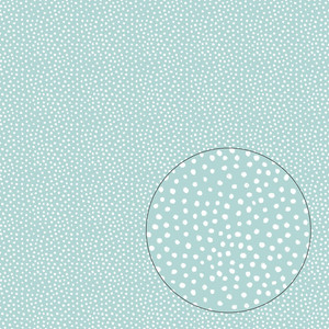 modern dots seamless pattern (blue)