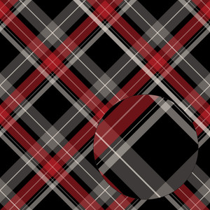 red & black christmas plaid seamless pattern