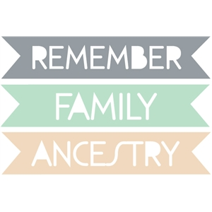 family history / ancestry word tags