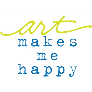 art makes me happy