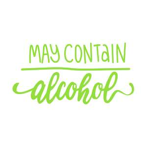 may contain alcohol phrase