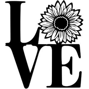 love sunflower