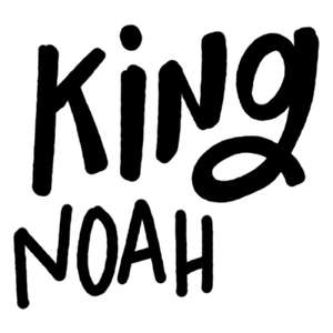 king noah word art