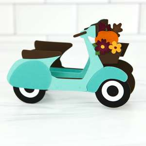 box card vespa pumpkins