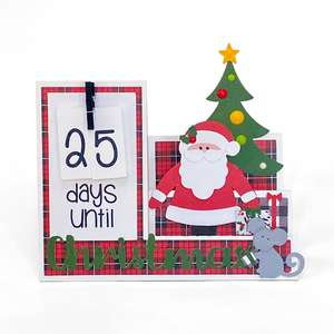 step card christmas countdown