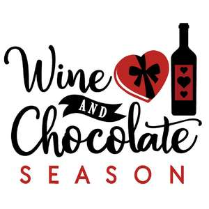 wine and chocolate season