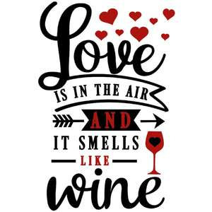 love in air smells like wine